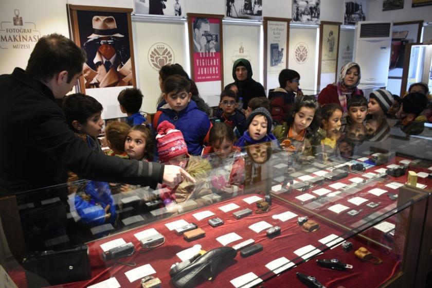 Malatya'da Fotoğraf Makinesi Müzesi'neyoğun ilgi
