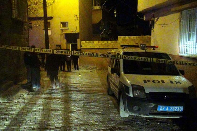 Antep'te polise ateş açıldı: 1 polis yaralı