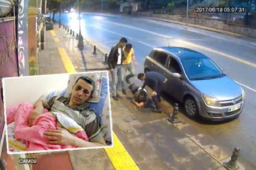 Polisin sakat bırakan dayağında adalet yok