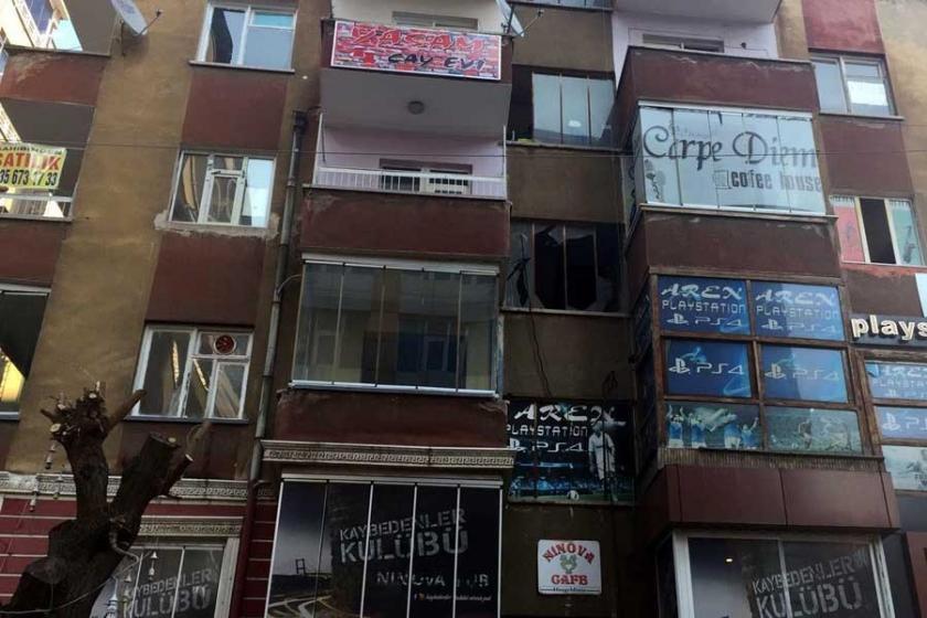 Diyarbakır Sanat Sokağı'ndaki binada patlama