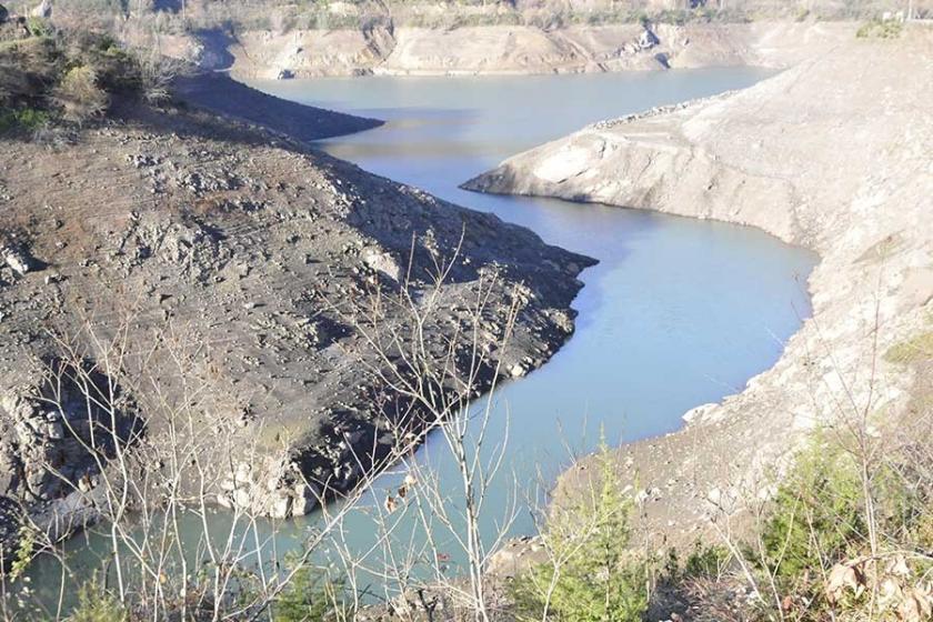 Yuvacık Barajı'nda su seviyesi yüzde 28'e düştü