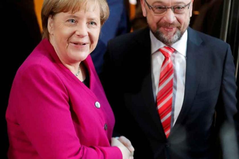 Almanya'da yeniden 'büyük koalisyon' için anlaşma