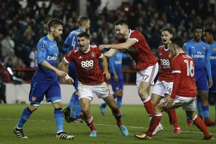 Nottingham Forest'tan Arsenal'e soğuk duş