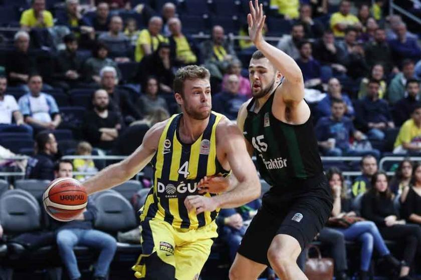 Basketbol Süper Ligi'nde 14. hafta: Lider Fenerbahçe kazandı
