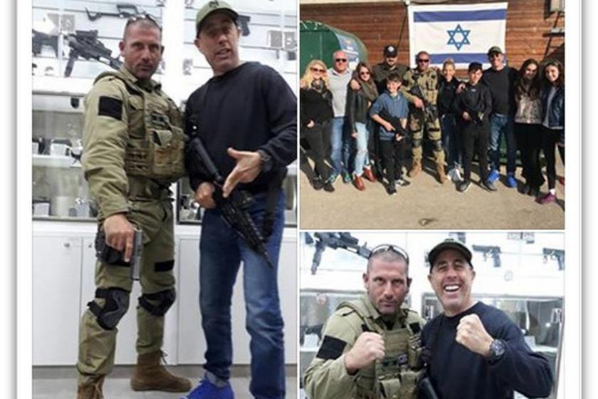 Seinfeld'den işgal üssü merkezinde 'Bol Siyonizm'li kareler