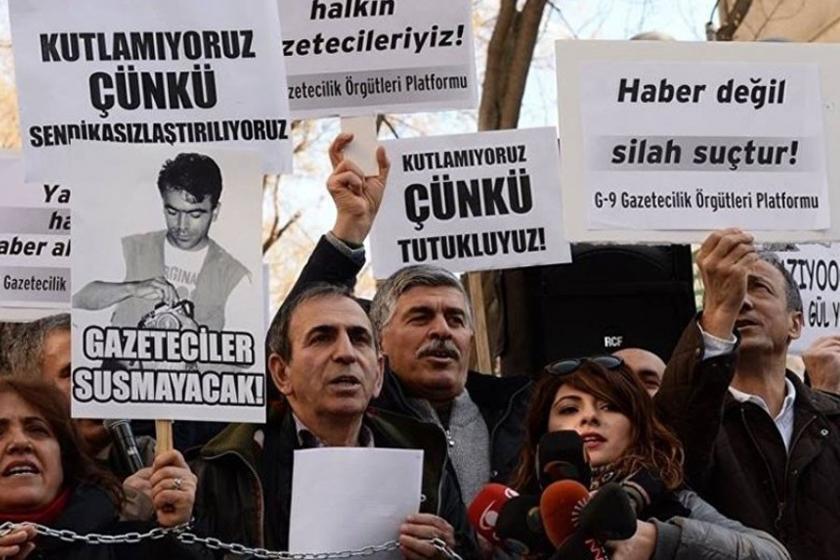 Çalışan Gazeteciler Günü: 145 gazeteci hapis, 10 bini işsiz