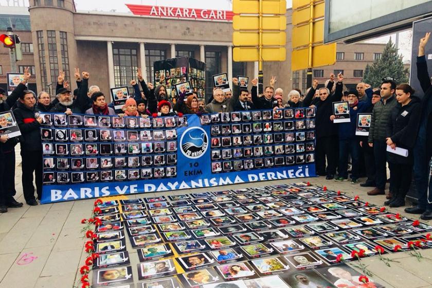 10 Ekim Katliamının 27. ayı: Her yıl Ankara Garında olacağız