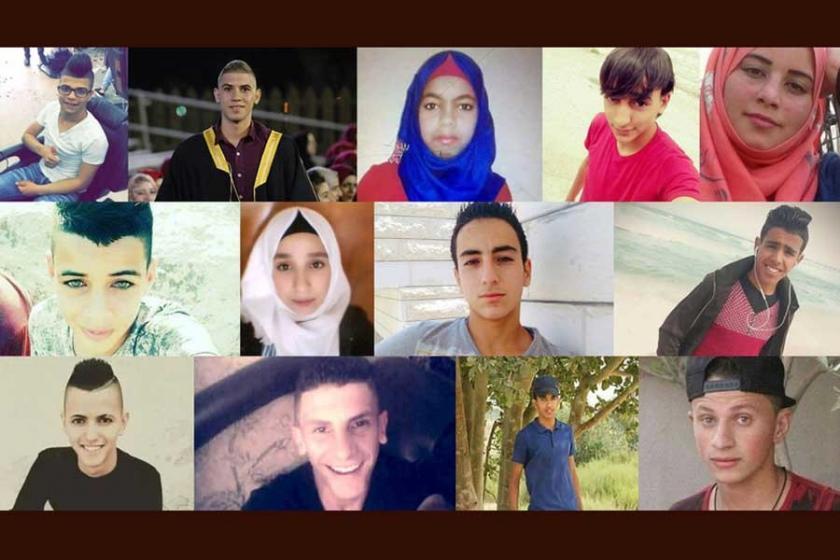 İsrail devleti 2017'de  bu çocukları öldürdü