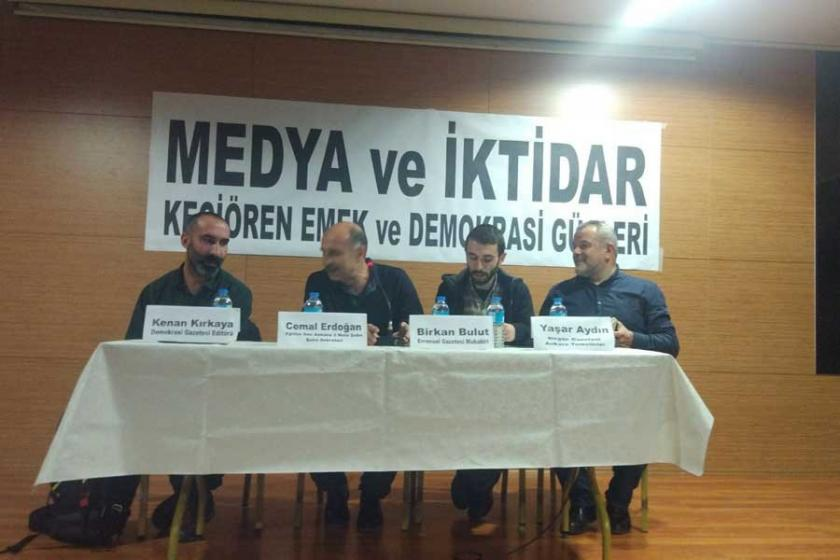 Ankara'da medya paneli: Gazeteci dayanışması umut veriyor