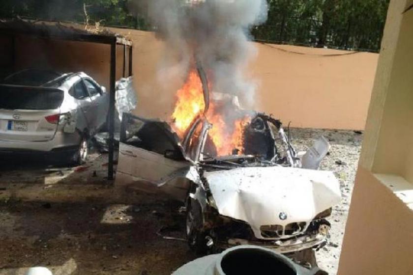 Lübnan'da Hamas yetkilisine bombalı saldırı