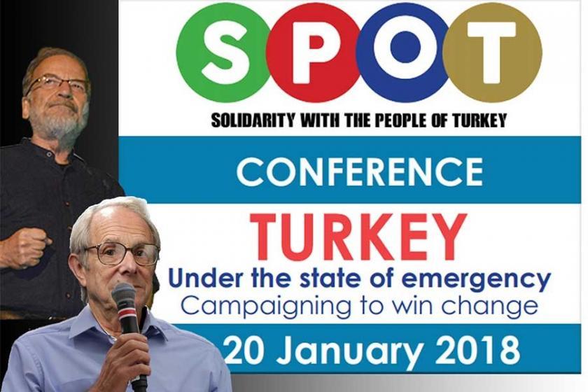 SPOT Yöneticisi: Türkiye halklarıyla dayanışmayı büyüteceğiz