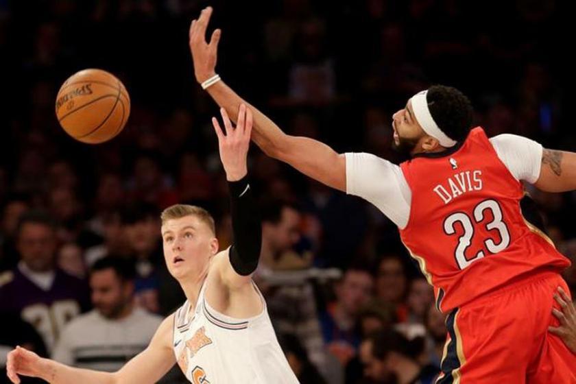 NBA'de gecenin sonuçları: Davis'ten Knicks'e 48 sayı