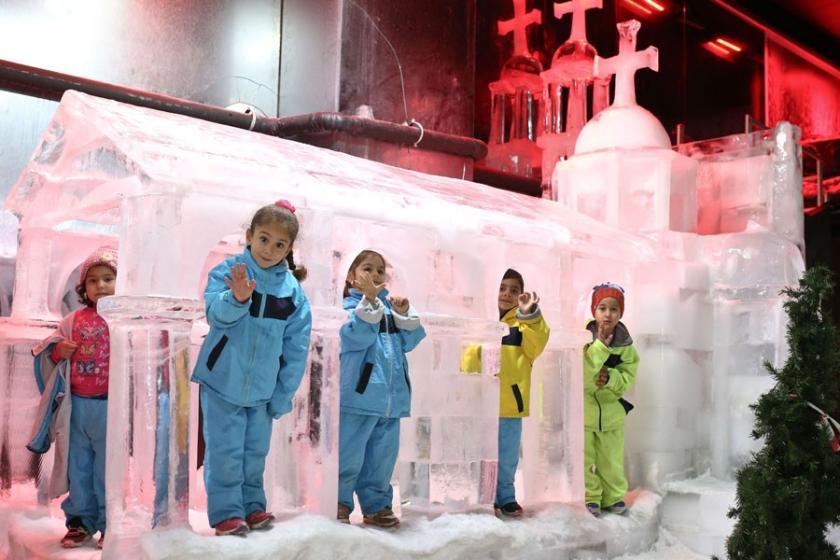 Buzdan Heykeller Müzesi'ne yoğun ilgi