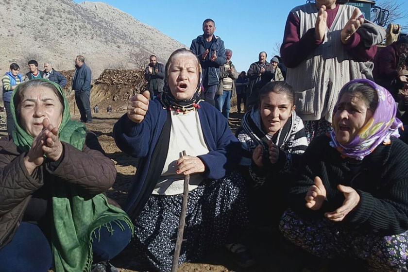 Dedeyazı köylüleriyaşam alanlarını savunuyor