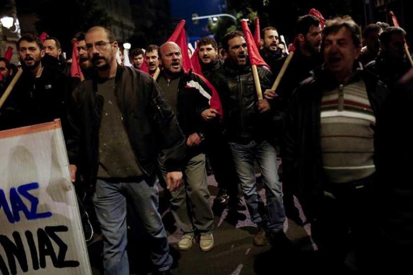 Yunanistan'da grev hakkını kısıtlayan yasa kabul edildi