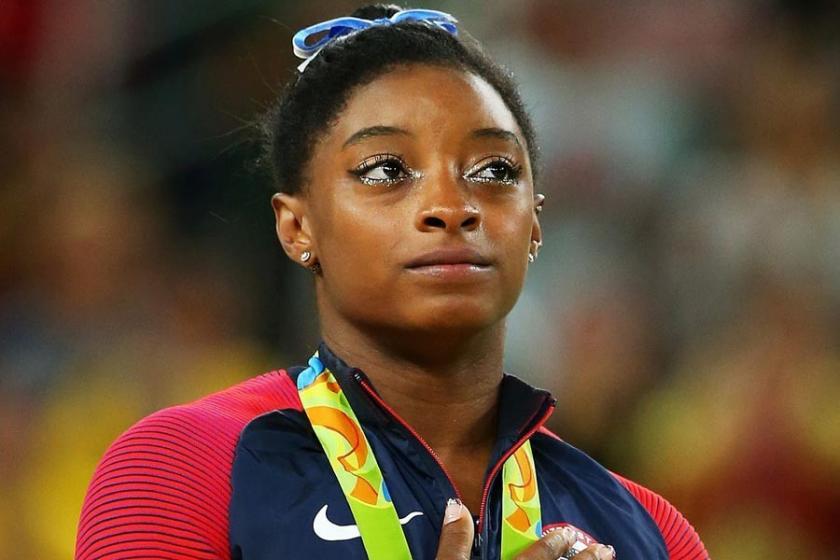 Olimpiyat madalyalı atlet Simone Biles de '#MeToo' dedi