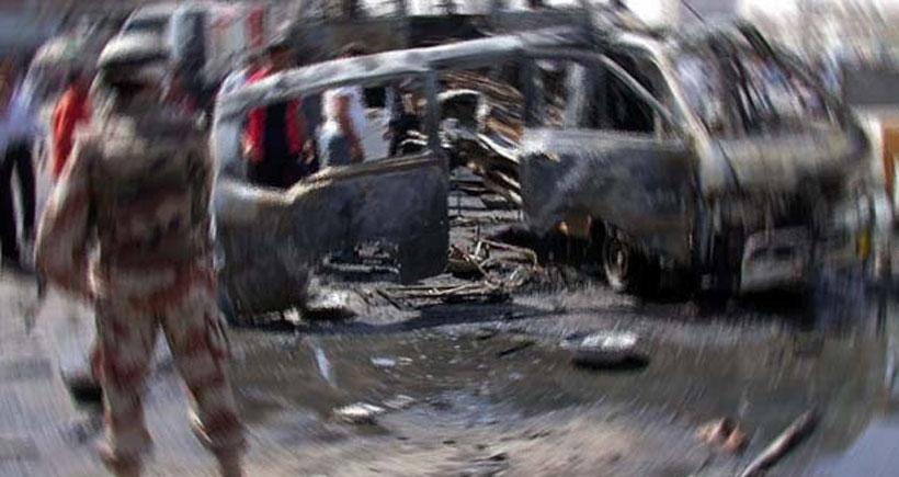 Bağdat'ta intihar saldırısı: 12 ölü