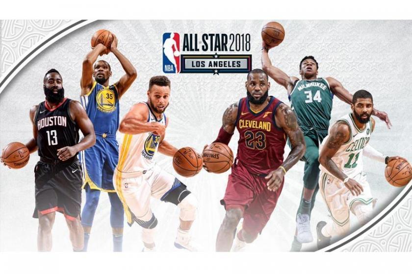 NBA All-Star'da ilk beş oyuncuları belirlendi