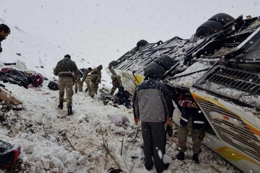 Bingöl Solhan'da otobüs dereye uçtu: 6 ölü