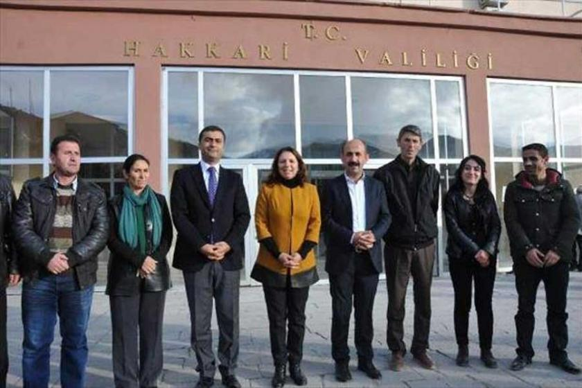 Hakkari Valiliği, HDP milletvekillerini protokolden çıkardı