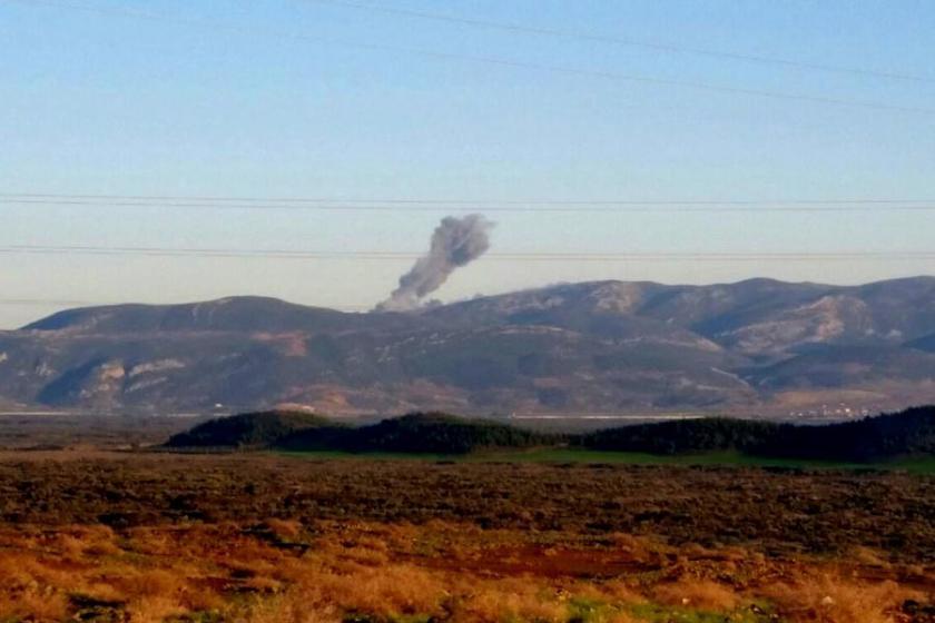 TSK, Afrin'e 'Zeytin Dalı Harekatı' başlattı