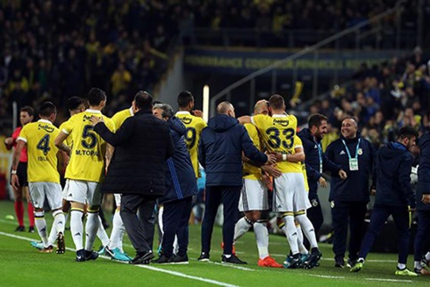 Fenerbahçe galibiyeti son dakikalarda buldu