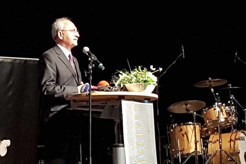 Almanya'da Kılıçdaroğlu'ya Afrin protestosu
