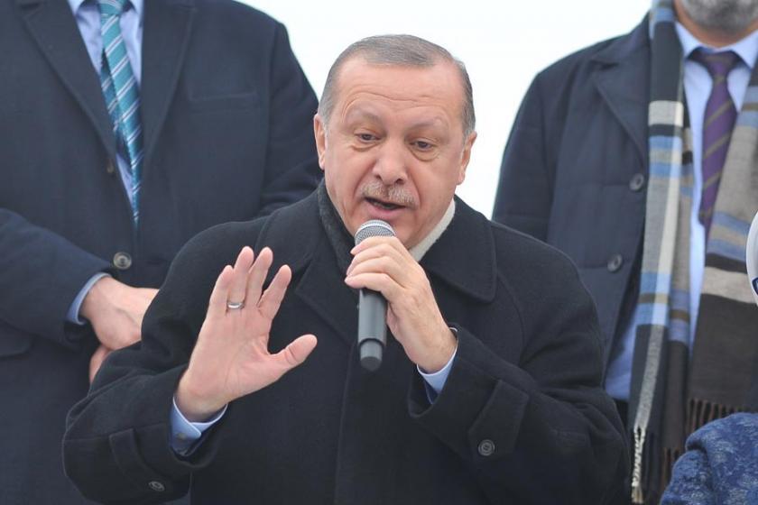 Erdoğan'dan Afrin operasyonu protestolarına gözdağı