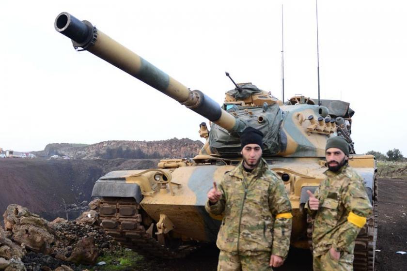 Afrin operasyonunda 3. gün: 1 asker hayatını kaybetti