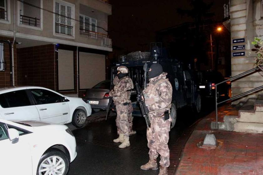 Beyoğlu'da uyuşturucu operasyonu