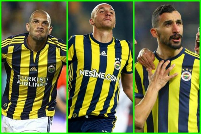 Fenerbahçe'de transfer etkisi yapan yıldızlar