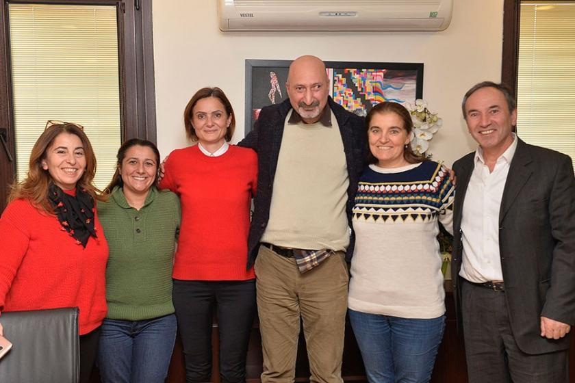Toplumsal Bellek Platformu, Kaftancıoğlu'yu ziyaret etti