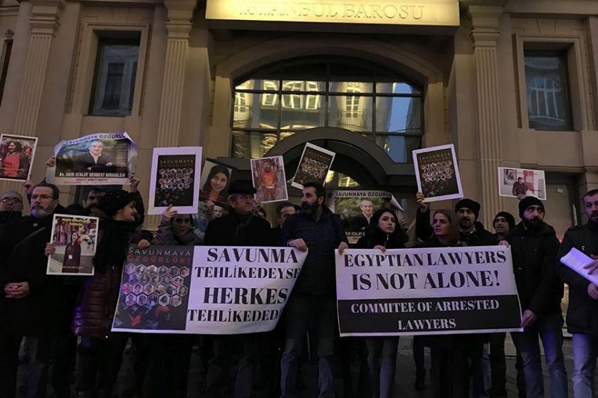 Hukuk örgütlerinden Tehlikedeki Avukatlar Günü'nde açıklama