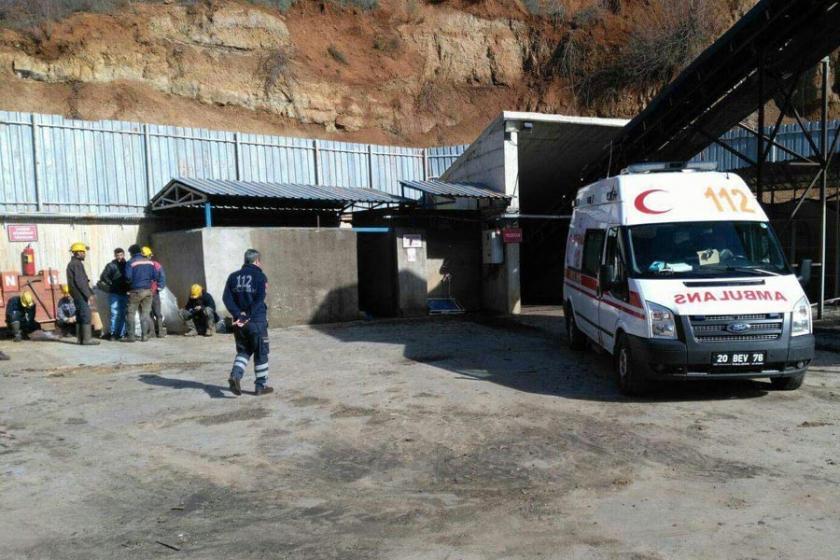 Denizli'de madende göçük: 1 işçi hayatını kaybetti