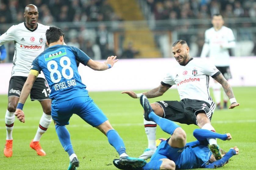 Beşiktaş kendi evinde Kasımpaşa'yı 2-1 mağlup etti