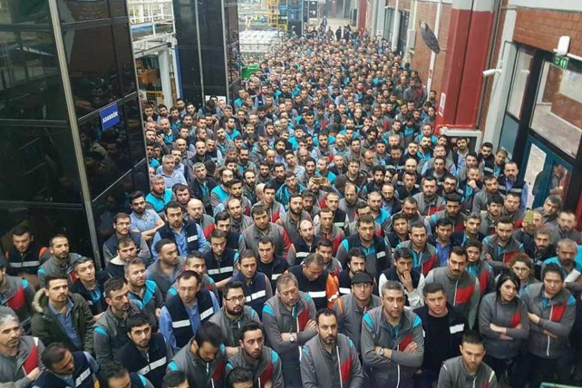 Ankara Arçelik işçileri Türk Metal'e de hükümete de tepkili