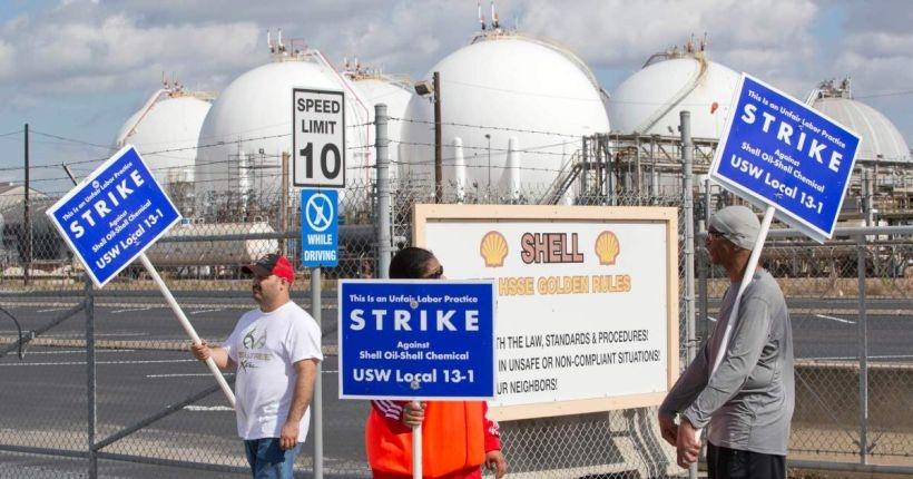 ABD'de petrol devlerindeki grev yayılıyor