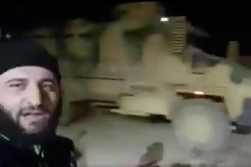 Halep'e giden TSK konvoyu, hava bombardımanıyla durduruldu