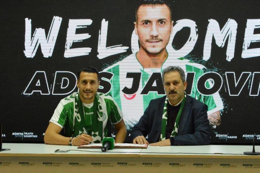 Adis Jahovic, Konyaspor'la sözleşme imzaladı