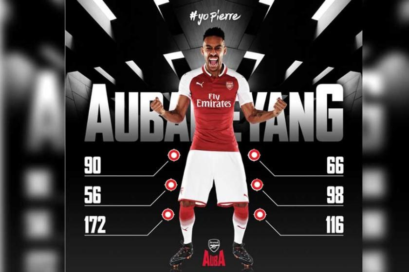 Pierre Emerick-Aubameyang Arsenal'de