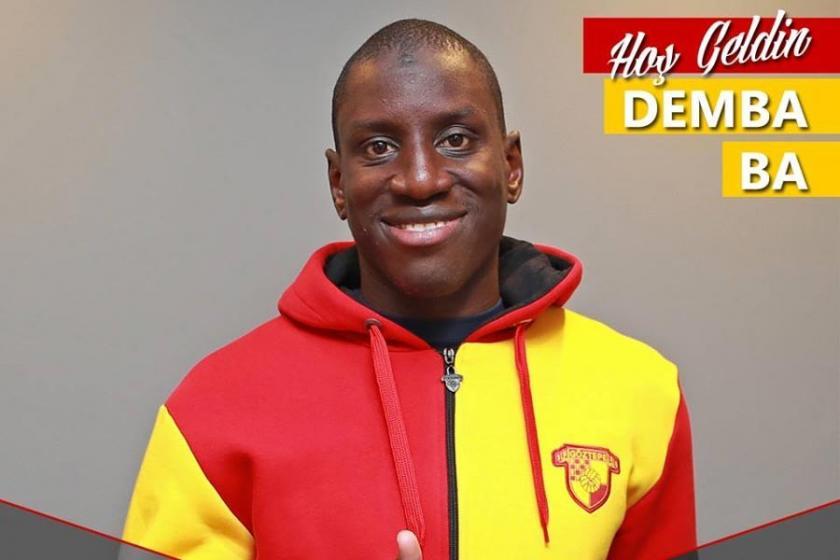 Göztepe Demba Ba'yı sezon sonuna kadar kiraladı