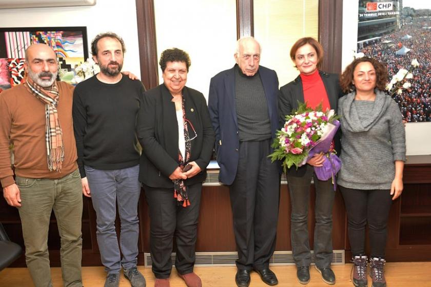 İstanbul Tabip Odası'ndan Kaftancıoğlu'ya ziyaret