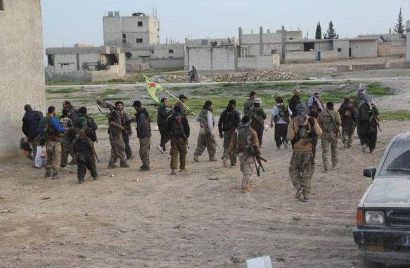 YPG: Kobanê köyleri IŞİD'den temizleniyor