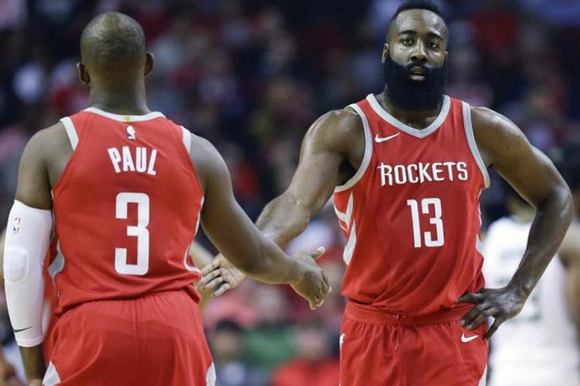 NBA'de gecenin sonuçları: Rockets, Cleveland'da şov yaptı
