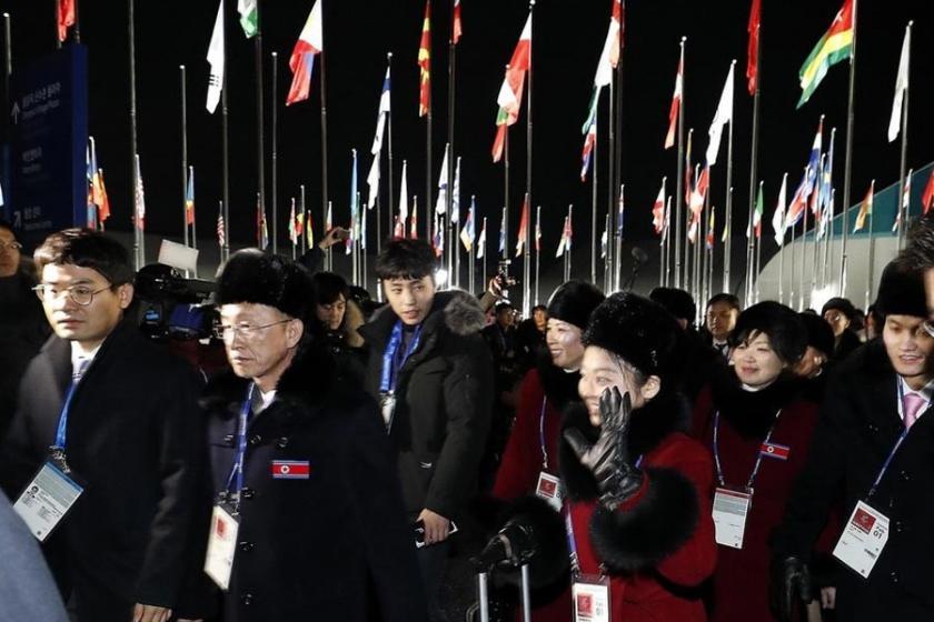 Güney ve Kuzey Kore'nin birleşik takımı ilk maçını yapacak