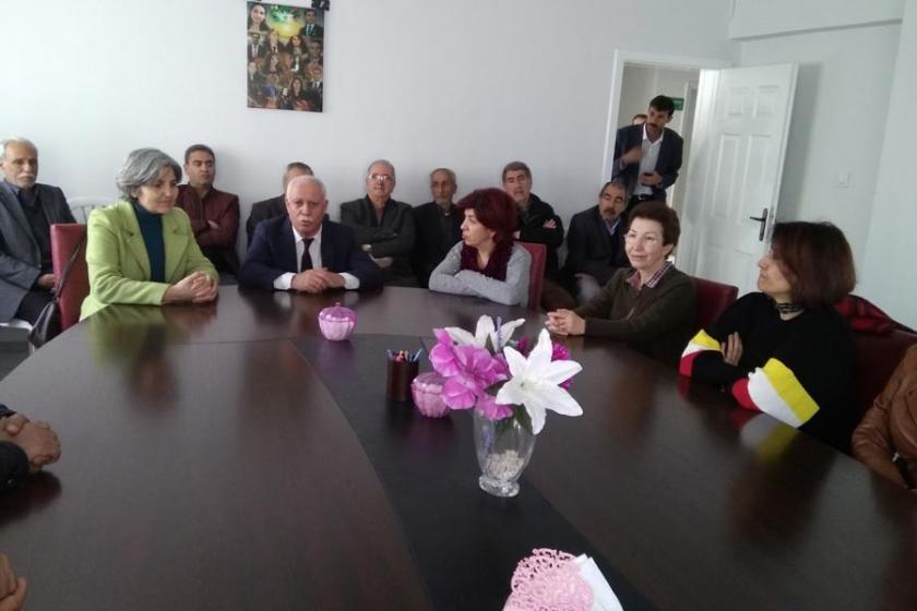 Selma Gürkan'ın dayanışma ziyaretleri sürüyor