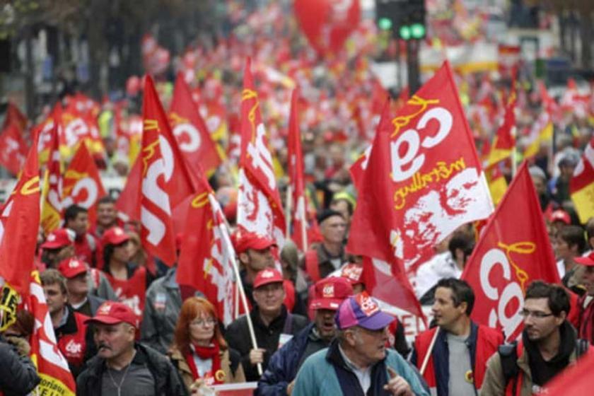 Fransız sendika: Almanya'daki metal işçileri yol gösteriyor