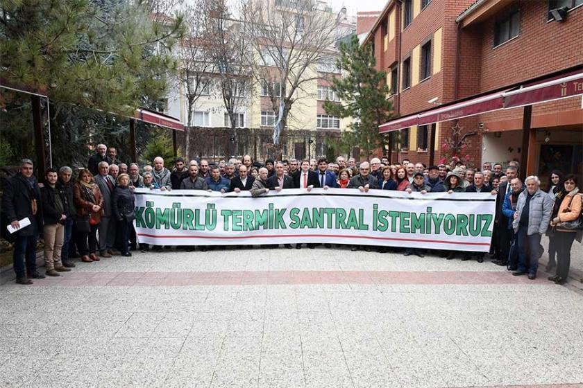 Eskişehir'de termik santrale karşı deklarasyon yayınlandı