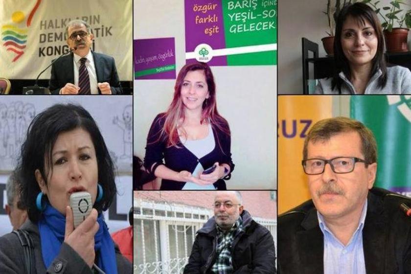Gözaltına alınan siyasetçiler Ankara'ya götürüldü