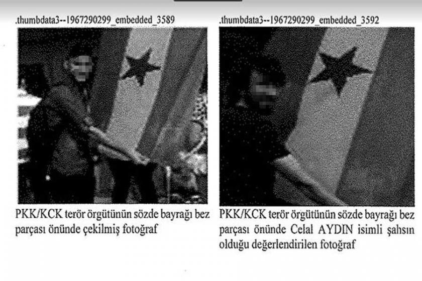 Savcı, Gana bayrağını PKK bayrağı yaptı